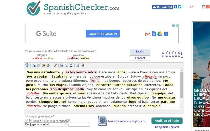 spanish checker