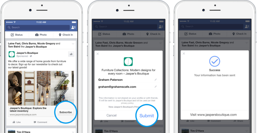 clientes potenciales en facebook