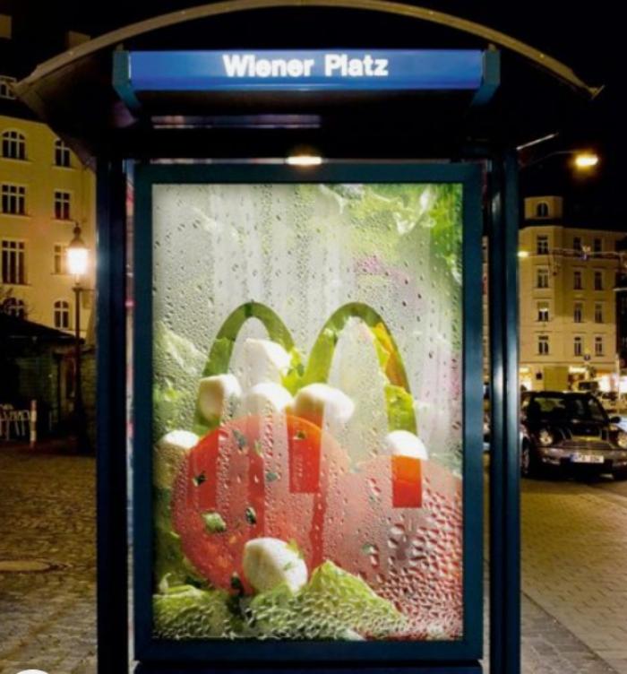 publicidad creativa mc donalds
