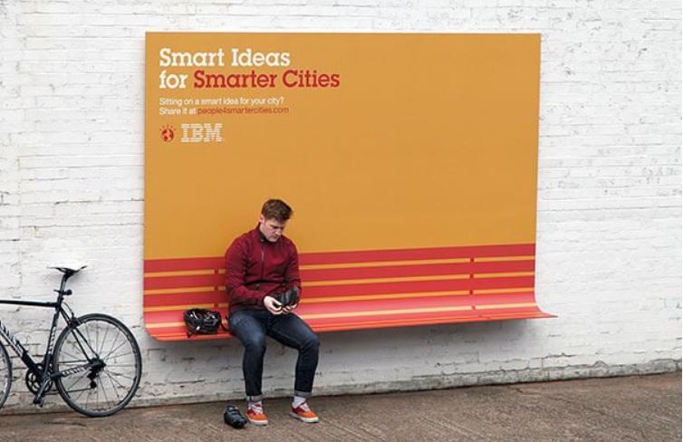 publicidad creativa parada de autobus