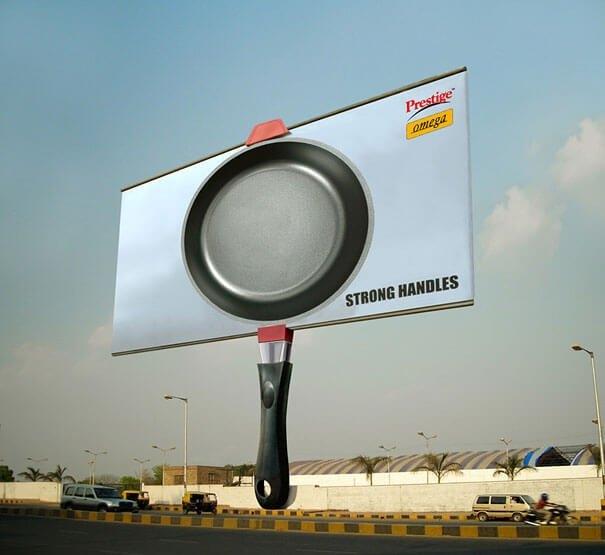 publicidad creativa y llamativa