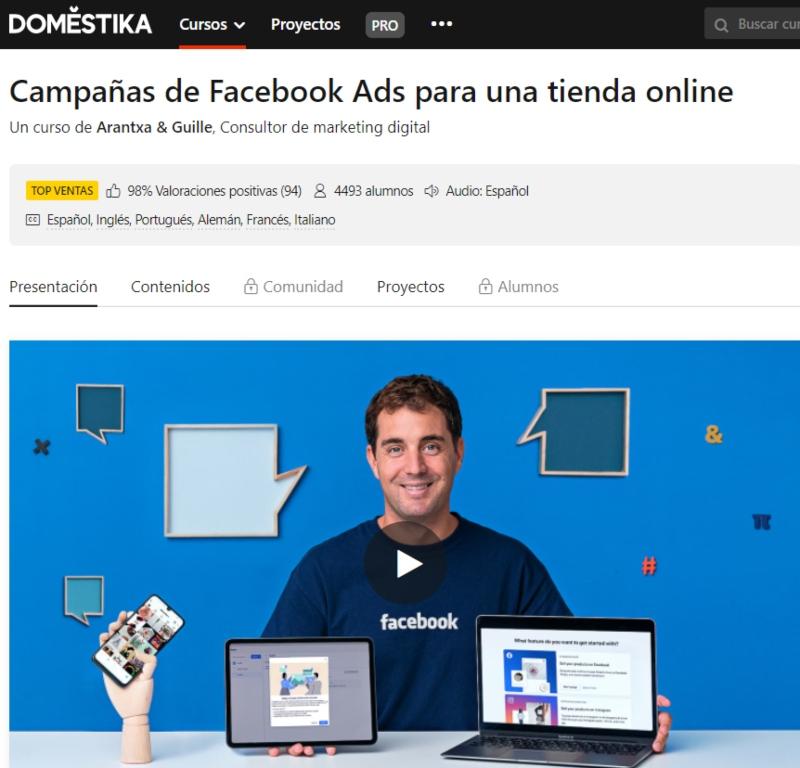 cursos de publicidad en redes sociales