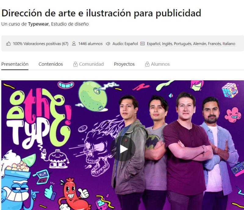 curso direccion de arte e ilustracion para publicidad