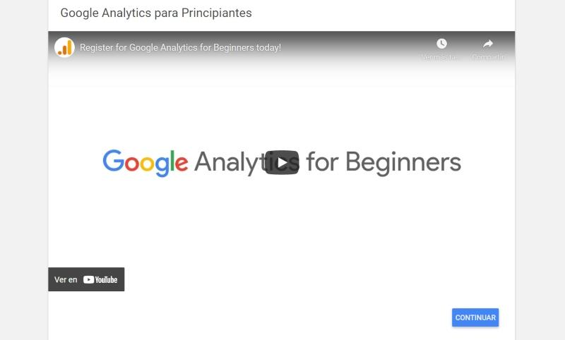 curso analytics gratis