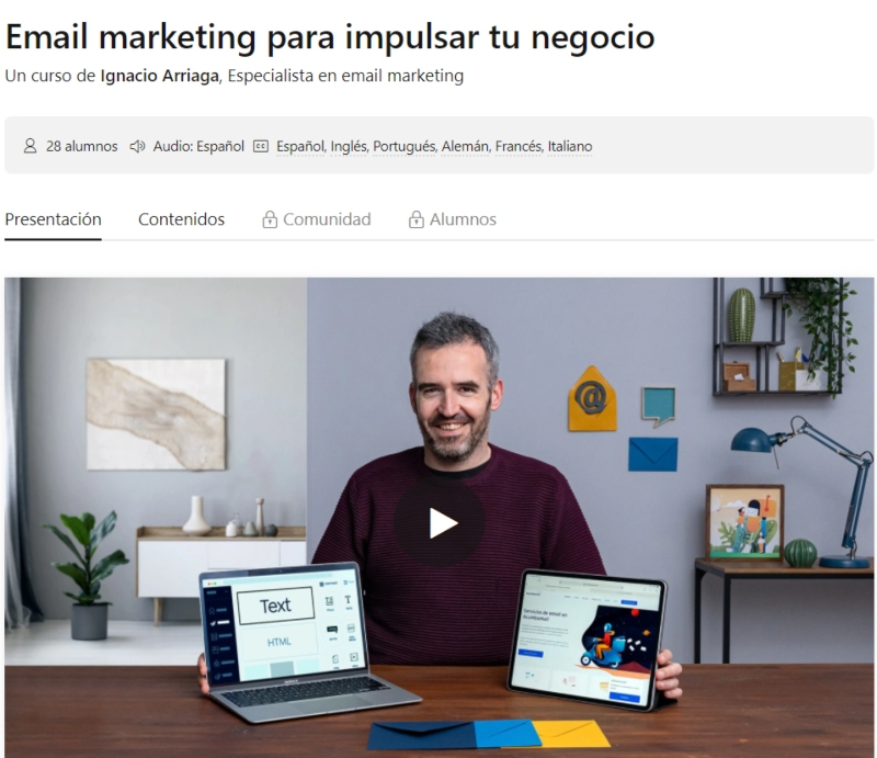 curso email marketing
