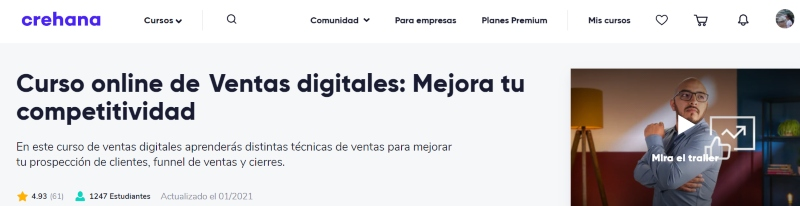 curso ventas digitales