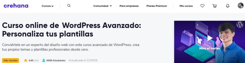 curso wordpress para ecommerce