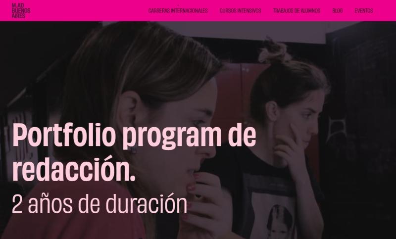 portfolio program redaccion