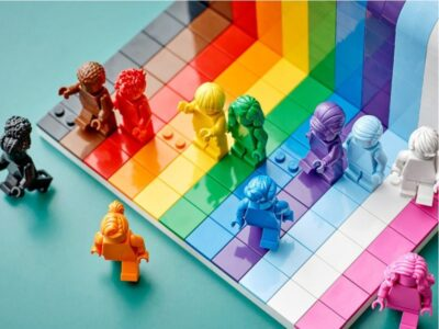 set arcoiris lego