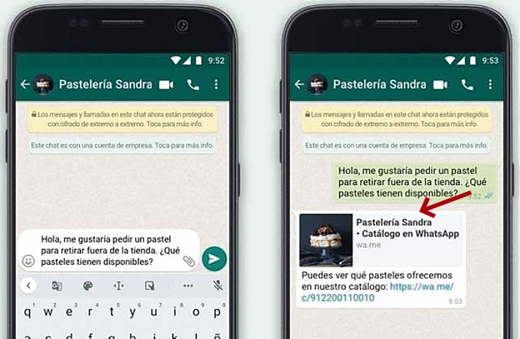 mensajes automaticos en whatsapp business