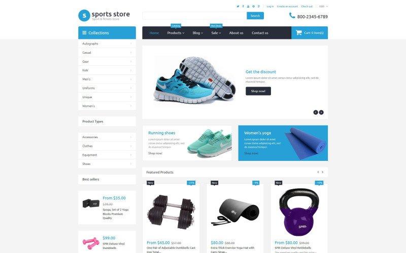 venta de productos deportivos online